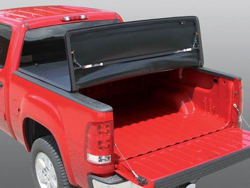 Rugged Vinyl Folding Tonneau Cover