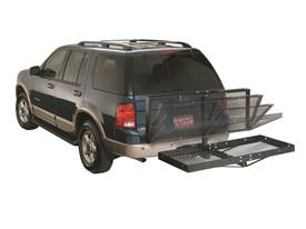 Lund Hitch Mounted Cargo Carrier - Tilt Option
