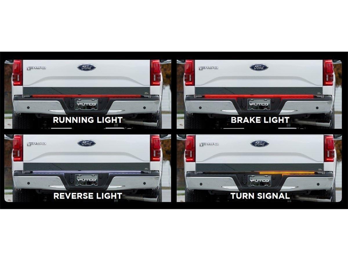 Putco SwitchBlade    LED       Tailgate       Light       Bars     SharpTruck