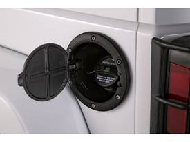 AMP Fuel Door - Black Powder Coat