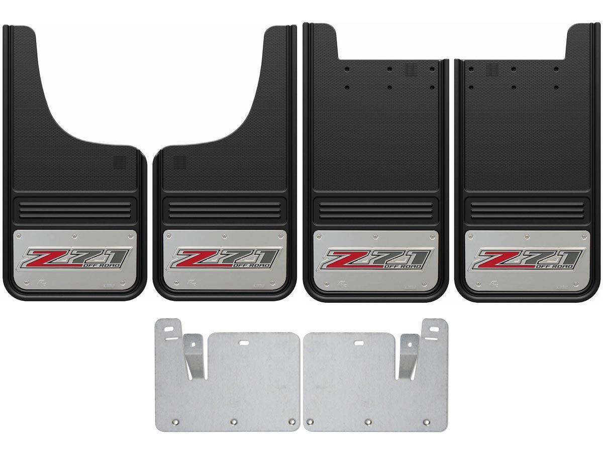 GMC Sierra Z71 Logo Gatorback Mud Flap Set