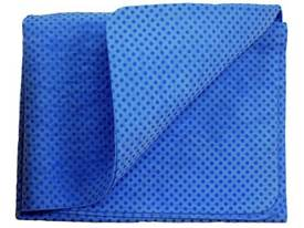 "33""x19"" Synthetic Drying Cloth - Blue"