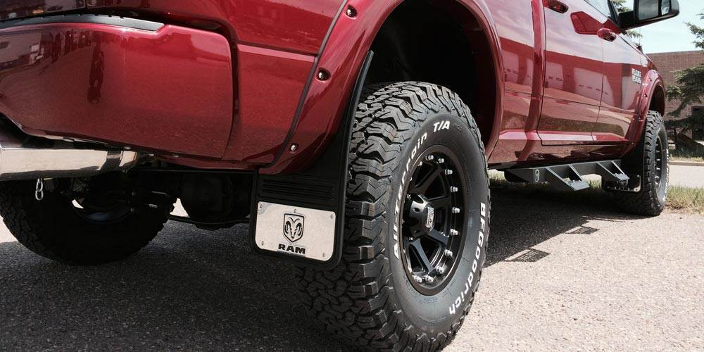 What do I need to install Gatorback mud flaps on my Dodge Ram Truck?